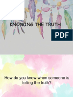 Knowing the Truth