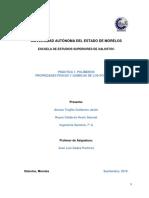 Practica 1-Caracteristicas de Los Polimeros