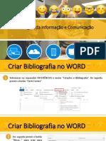 TIC5_Aula08_Criar Bibliografia No Word