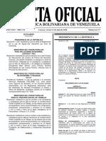 Reglamento de La Ley de Aguas Año 2018