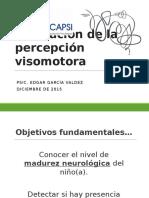 valoracion de la percepcion visomotora