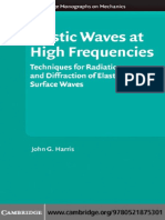 Elastic Waves at high Frequency