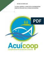 Investigación y Diagnostico de Mercado Acuicoop