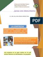 Las Empresas Como Sistema Dinámico 15-09-19