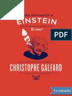 Para Entender a Einstein - Christophe Galfard