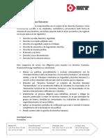 Política de Derechos Humanos Drummond Energy 2019