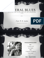 Poetic Power Point - W.H. Auden - Funeral Blues