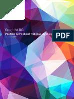 Spectre 5G Position de Politique Publique de la GSMA