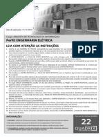 Quadrix 2012 Dataprev Analista de Tecnologia Da Informacao Engenharia Eletrica Prova