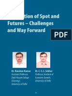 Integration of Spot and Futures Challenges Way Forward Raushan Kumar and c s c Sekhar