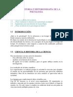 Apuntes Historia de la Psicología
