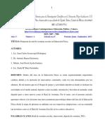 17-9-27. Propuesta de Raid de Aventura Escolar en Educación Física