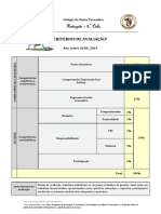 2- Critérios Avaliação 2018 e 2019