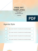 Pastel Watercolor Style PowerPoint Template