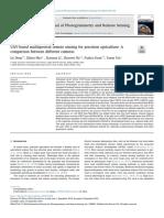 UAV-based multispectral remote sensing for precision agriculture