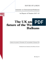 HOUSE OF LORDS - The UK and the future of the Western Balkans.pdf