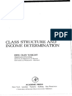 Erik Olin Wright - Class Structure and Income Determination