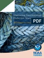 Informe de Mejoramiento de La Gestión de La Pesca Internacional 2019-NOAA