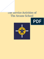 Arcane School - Service Activities