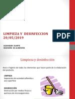 LIMPIEZA Y  DESINFECCION POES.pptx