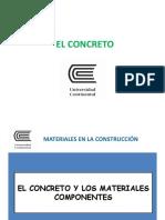 Materiales en La Construcción V