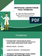PEMERIKSAAN LAB PADA TROMBOSIS-dr.Zelly - 2016.pptx