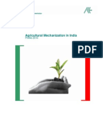 Agricultural Mechanization in India- Profile 2010