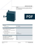 6GK72431EX010XE0 Datasheet Modulo Ethernet s7-200