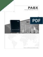 PABX MS Series User Manual