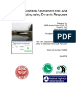 Bridge Condition Assessment and Load Rating Using Dynamic Response