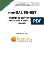modelo manual sg sst