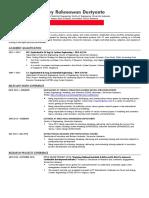 Teknik Menulis Curriculum Vitae (CV) Akademik untuk Mendaftar Program Master (S2) atau Doktoral (S3) Luar Negeri yang Efektif - Arry Rahmawan.pdf