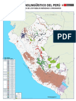 Mapa Etnolingüístico