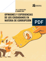 Barometro Transparencia Corrupcion 2019