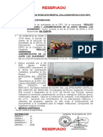 01set2019 Ceremonia de Juramentacion Del Aa.hh Las Terrazas Jj.vv Los Guardines