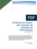 2.- Archivos de Datos