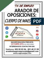 PREPARADOR oposiciones maestro.odg