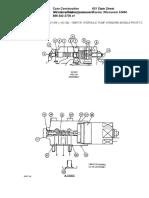 159817a1 Hydraulic Pump, Standard Models Prior to p.i.n. Dac0301004