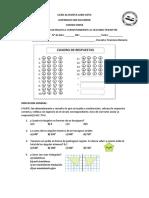 Examen Matematica Sexto Segundo Trimestre