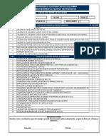 Check List Formateo de Equipos Ucc