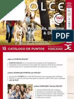 Catálogo de Puntos Dolce Ed.12