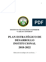 plan estratejico de desarrollo