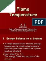 Flame Temperature