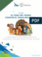 Materiales y Recursos Didacticos Alumno Del Tunel Del Tiempo
