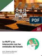 La NLPT y su interelación con las entidades del Estado - UNIDAD I.pdf