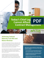 Todays Chief Legal Officer Cannot Afford to Ignore Contract Management