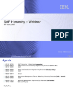 SAP Hierarchy Overview