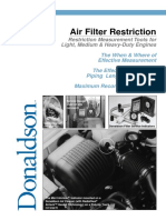 V301092 Donaldson Air Restriction Effects