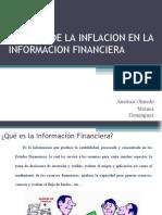 Expo 4 Efectos de La Inflacion en La ion Financier A