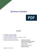 materiale ceramice